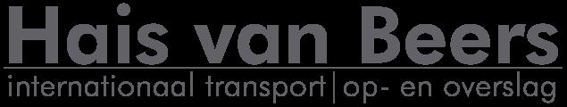Hais van Beers Transport internationaal transport op- en overslag